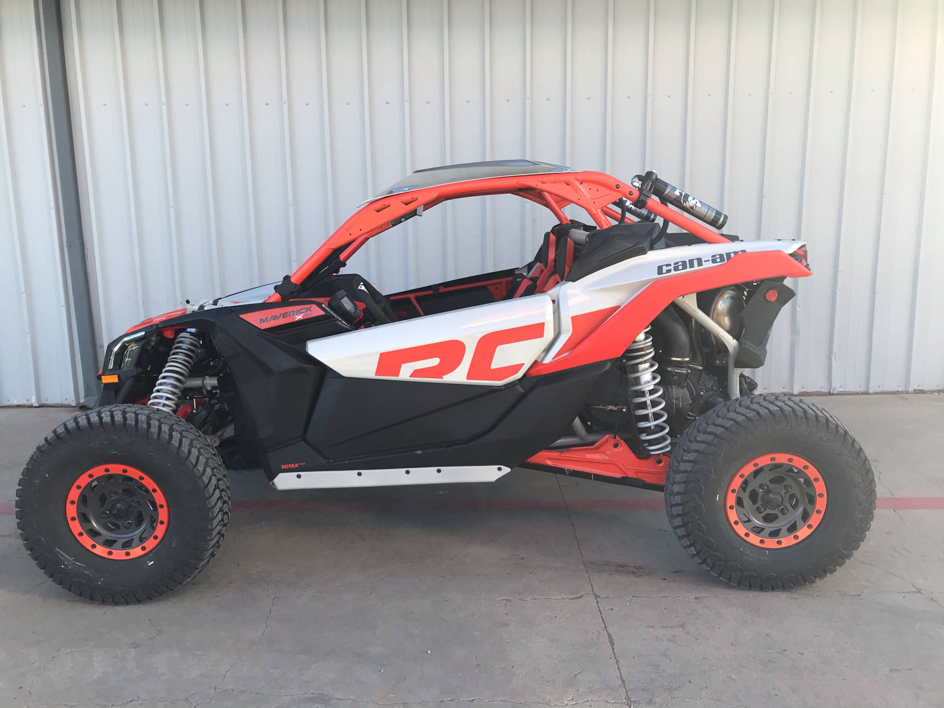 2021 Can-Am Maverick X3 X RC Turbo RR in Amarillo, Texas - Photo 3