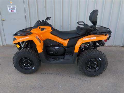 2020 Can-Am Outlander MAX DPS 570 in Amarillo, Texas - Photo 3