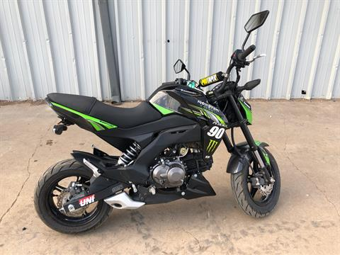 2018 Kawasaki Z125 Pro KRT Edition in Amarillo, Texas