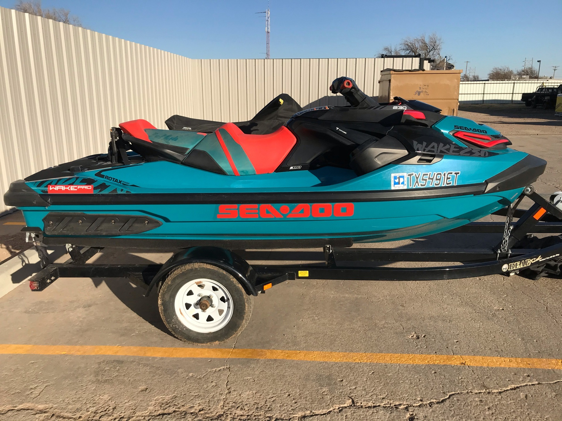 2019 Sea-Doo WAKE Pro 230 iBR + Sound System in Amarillo, Texas - Photo 1