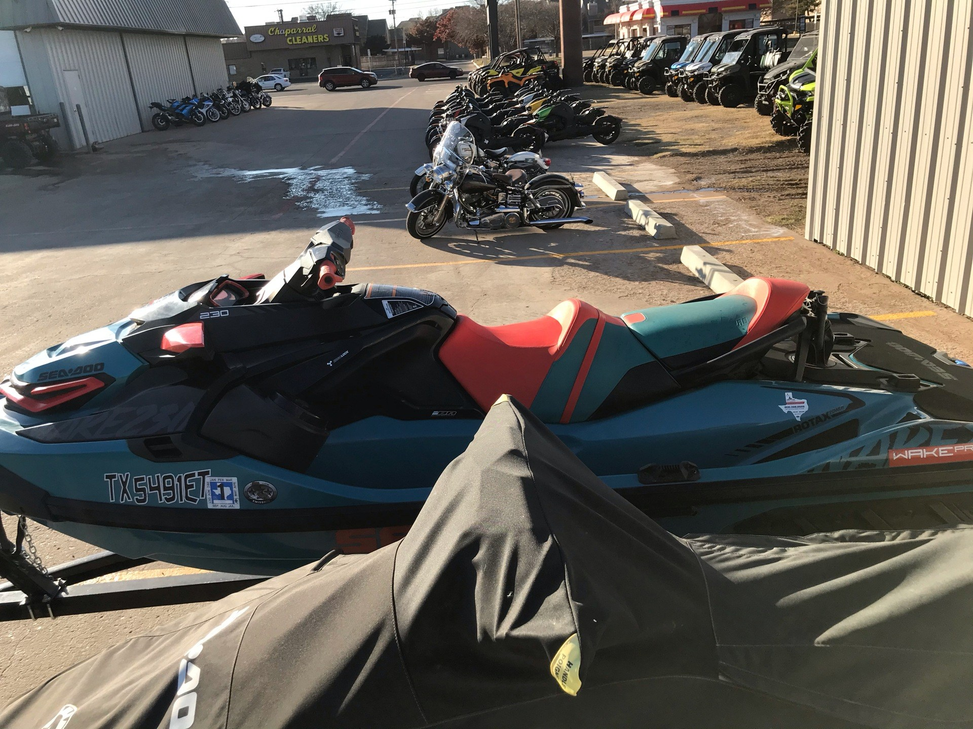 2019 Sea-Doo WAKE Pro 230 iBR + Sound System in Amarillo, Texas - Photo 3