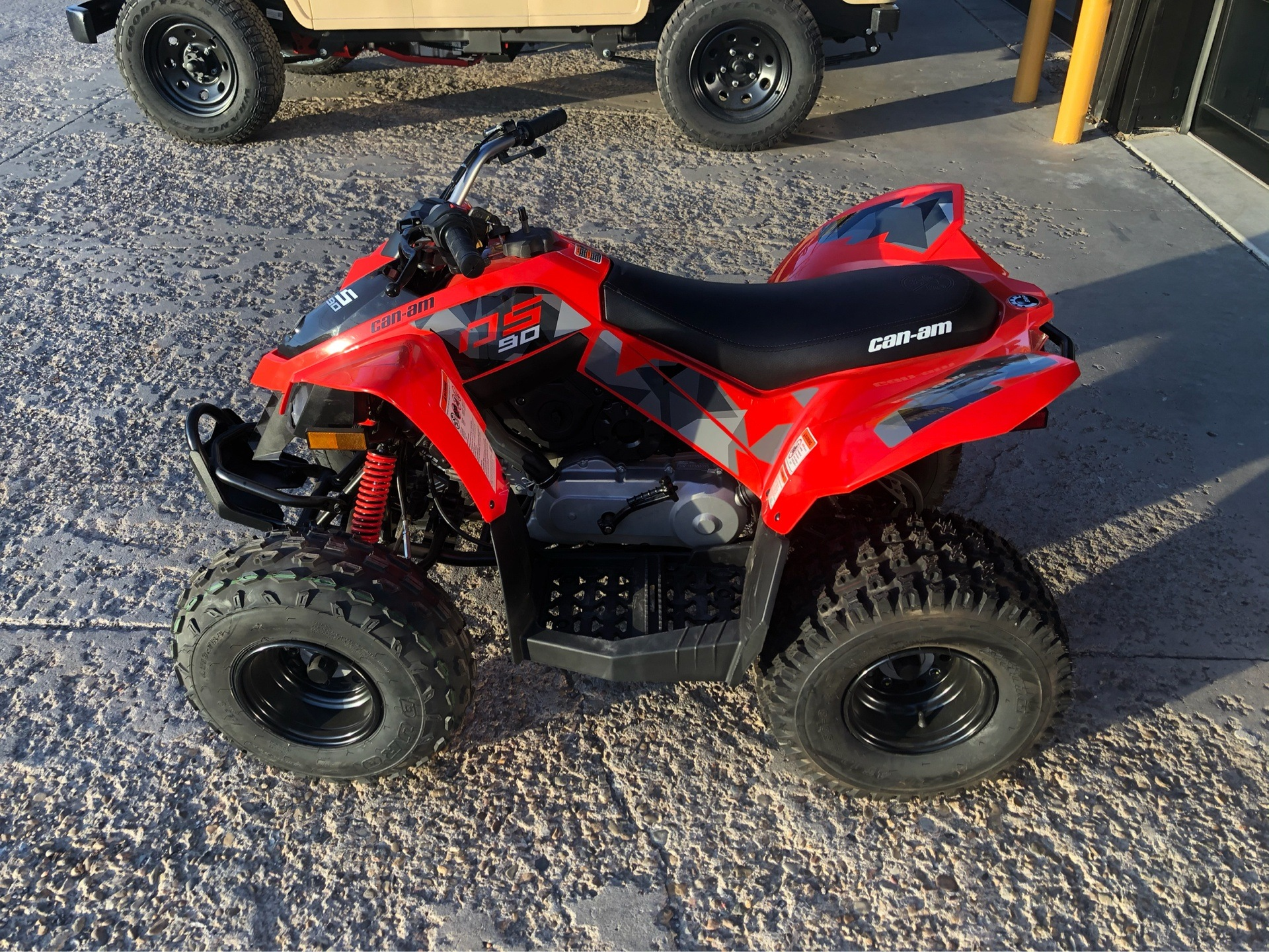 2020 Can-Am DS 90 in Amarillo, Texas - Photo 3