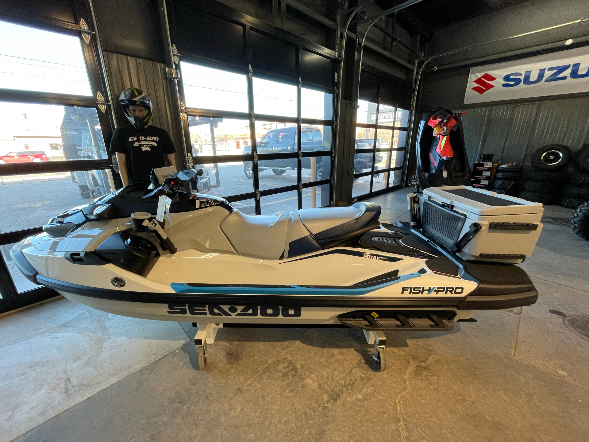 2021 Sea-Doo Fish Pro 170 iBR + Sound System in Amarillo, Texas - Photo 1