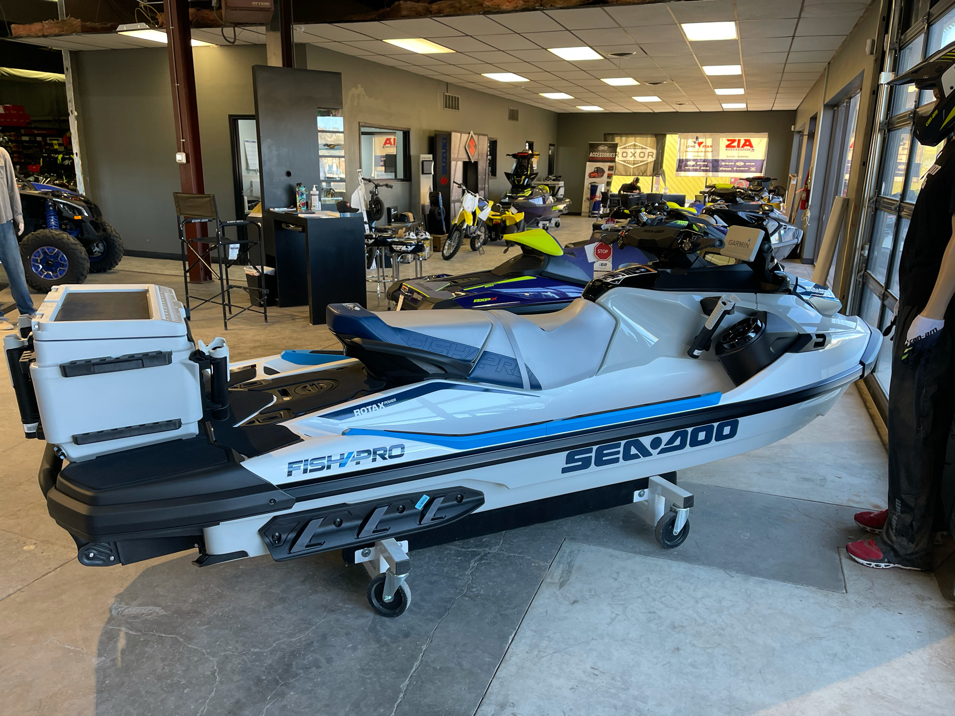 2021 Sea-Doo Fish Pro 170 iBR + Sound System in Amarillo, Texas - Photo 3