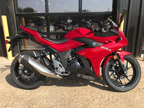 2020 Suzuki GSX250R in Amarillo, Texas - Photo 1