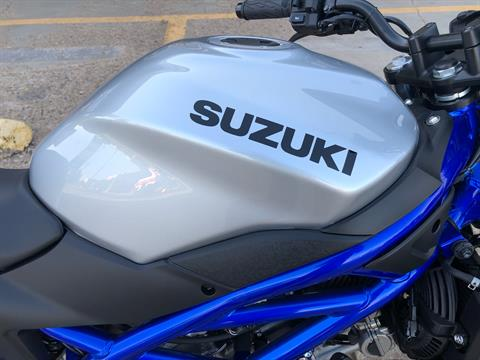 2020 Suzuki SV650 in Amarillo, Texas - Photo 5