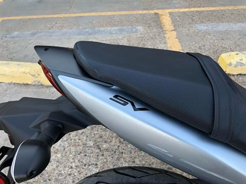 2020 Suzuki SV650 in Amarillo, Texas - Photo 6