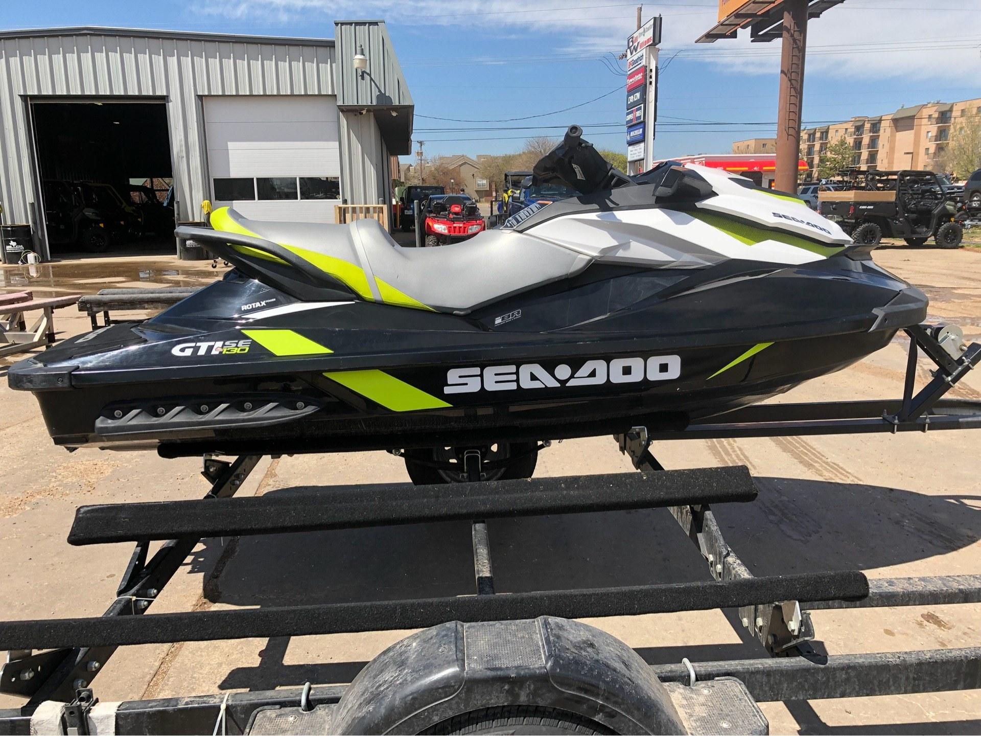 2016 Sea-Doo GTI SE 130 4