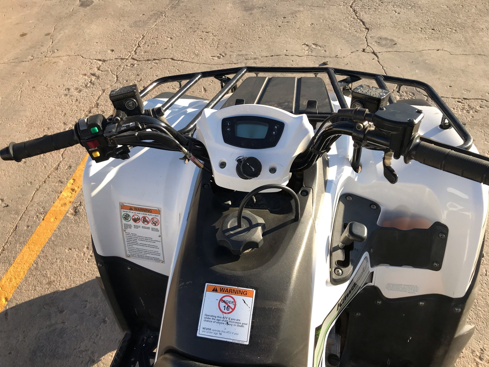 2015 Kawasaki Brute Force® 300 in Amarillo, Texas - Photo 11