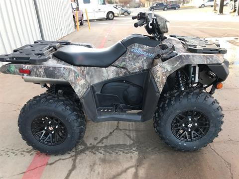 2021 Suzuki KingQuad 750AXi Power Steering SE Camo in Amarillo, Texas - Photo 1