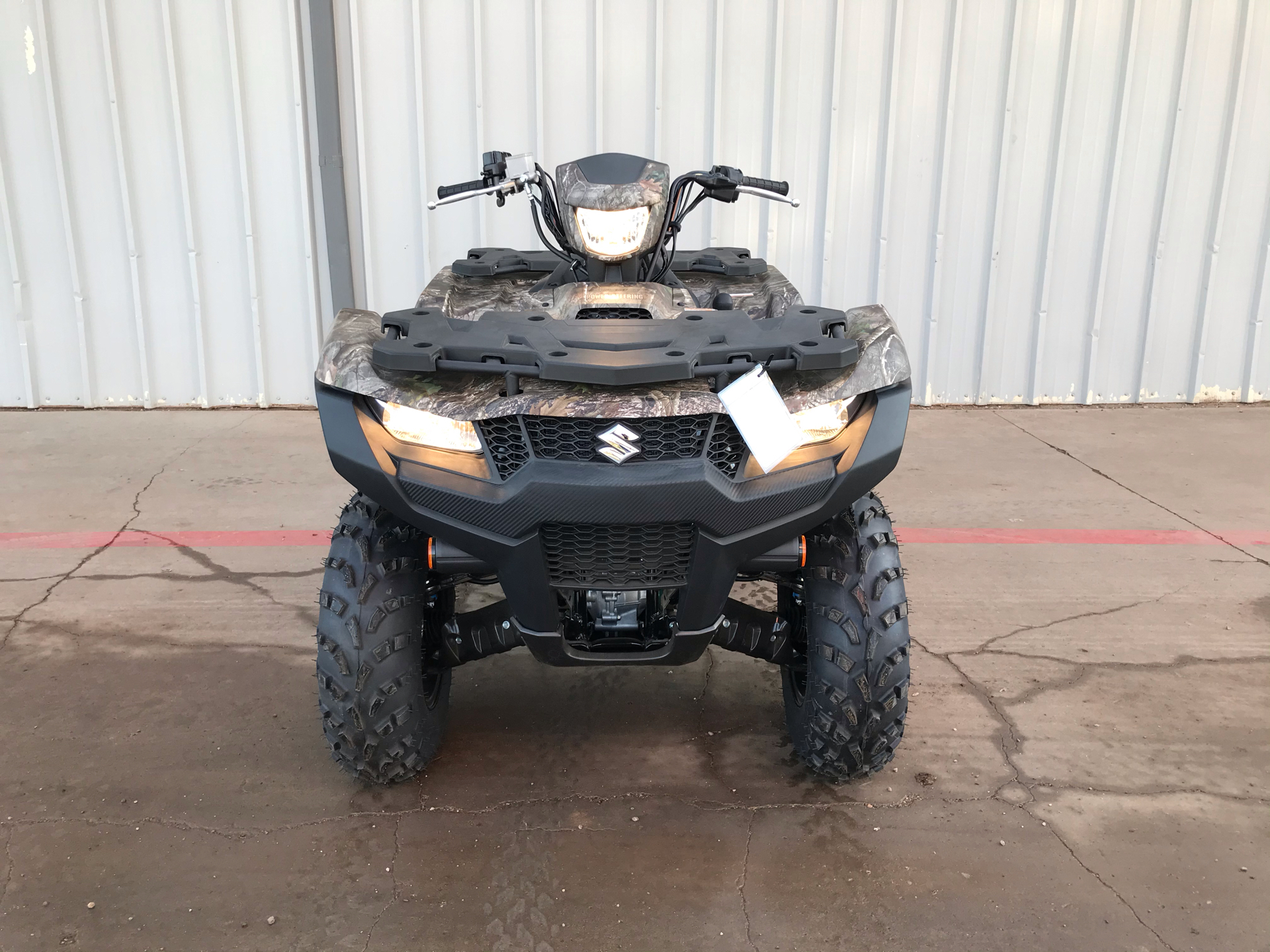 2021 Suzuki KingQuad 750AXi Power Steering SE Camo in Amarillo, Texas - Photo 2