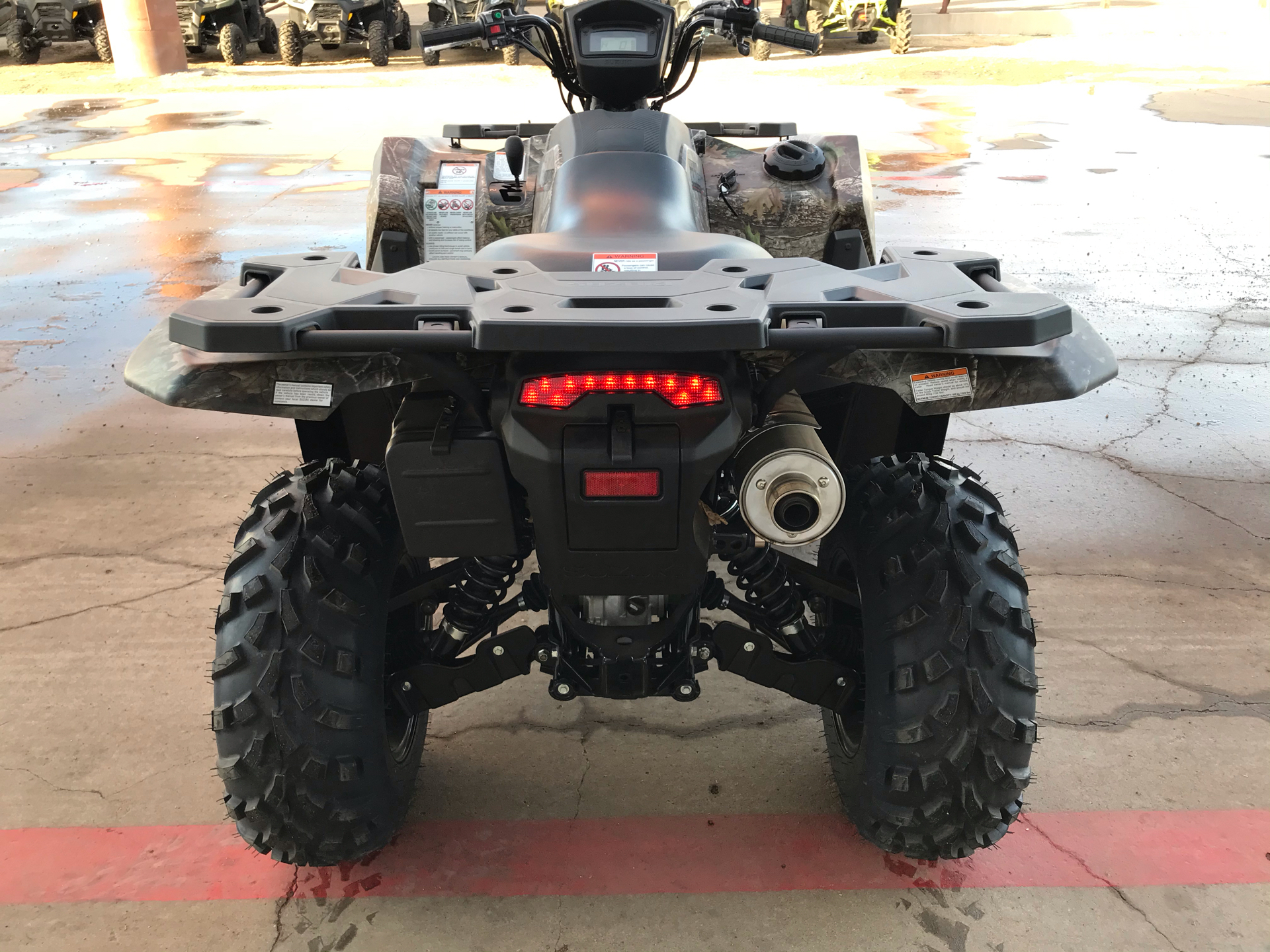 2021 Suzuki KingQuad 750AXi Power Steering SE Camo in Amarillo, Texas - Photo 4