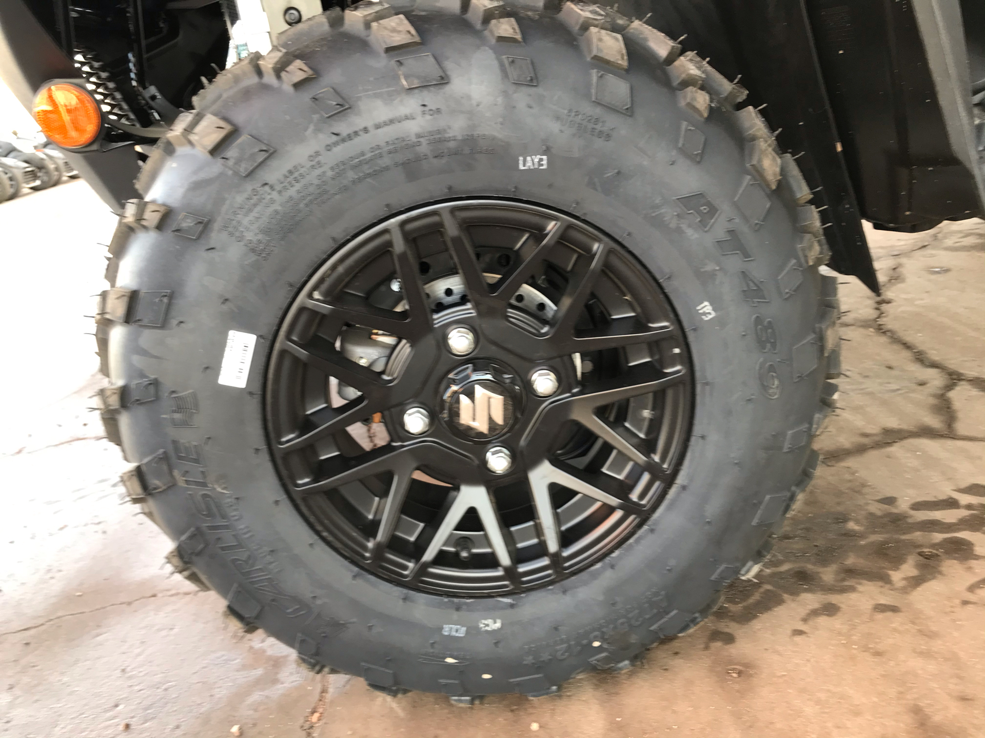 2021 Suzuki KingQuad 750AXi Power Steering SE Camo in Amarillo, Texas - Photo 12