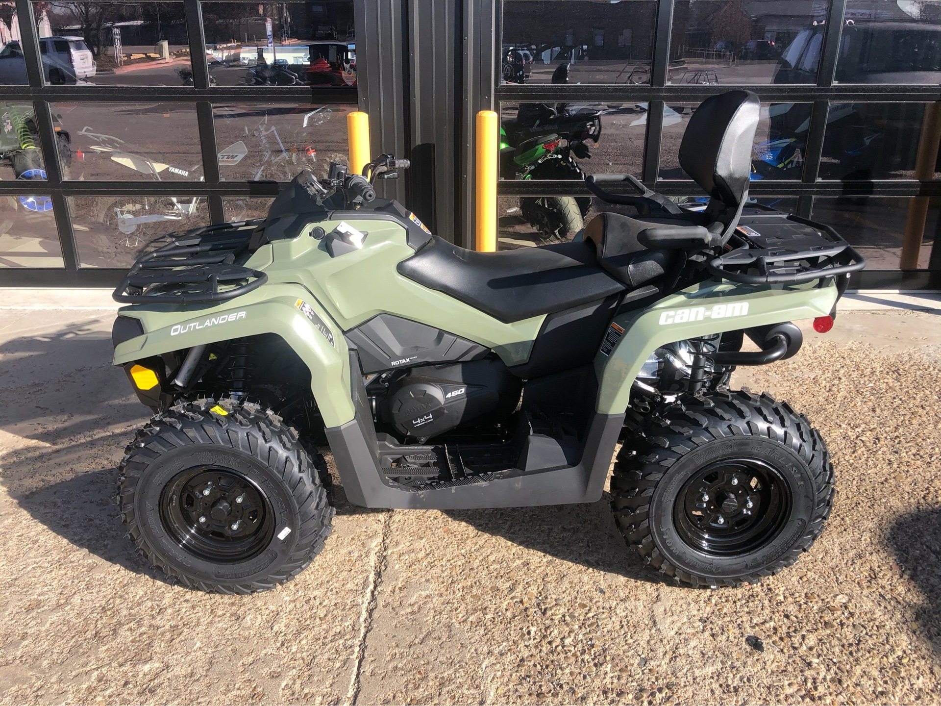 2020 Can-Am Outlander MAX DPS 450 in Amarillo, Texas - Photo 3