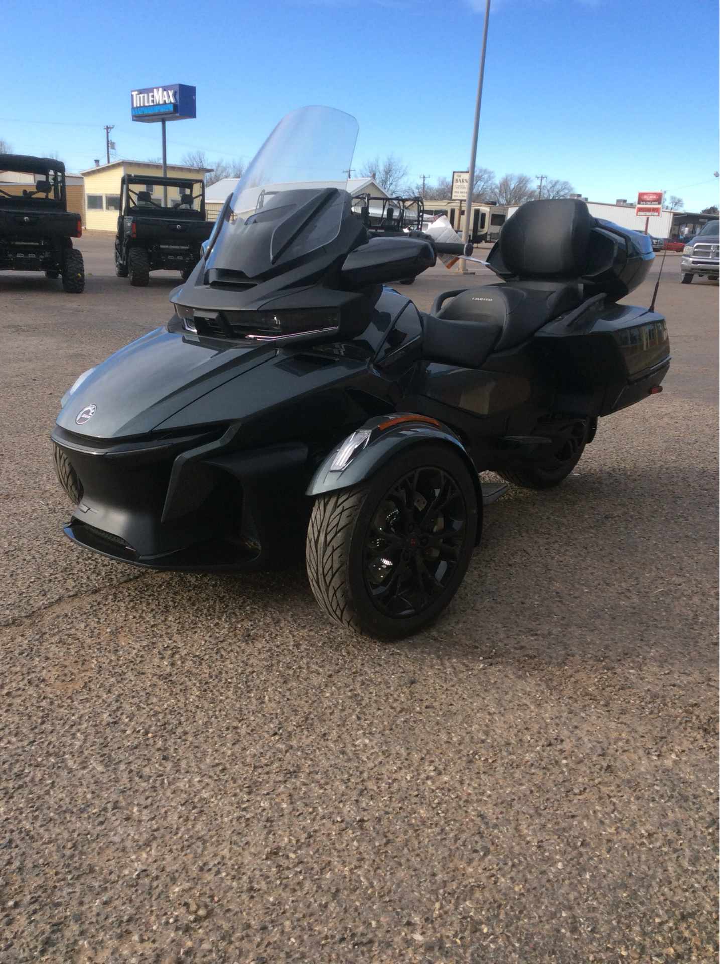 2021 Can-Am Spyder RT Limited in Clovis, New Mexico - Photo 4