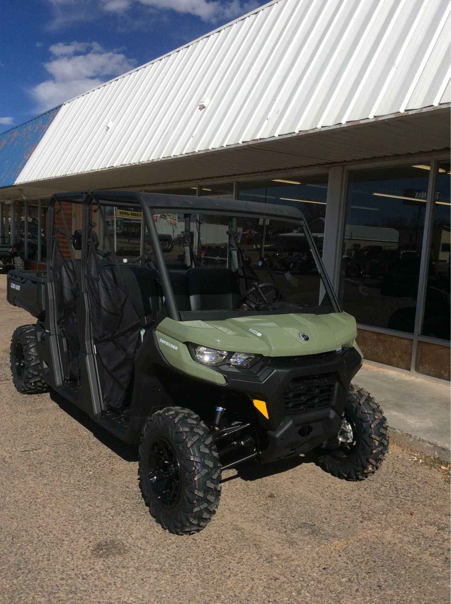 2021 Can-Am Defender MAX DPS HD8 in Clovis, New Mexico - Photo 3