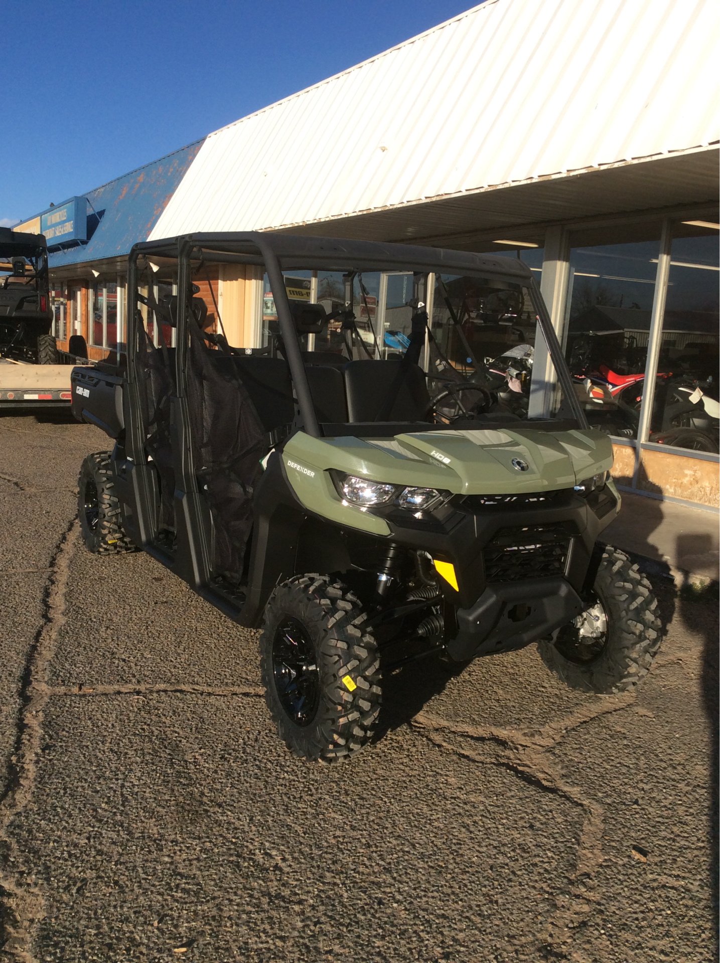 2021 Can-Am Defender MAX HD8 in Clovis, New Mexico - Photo 2