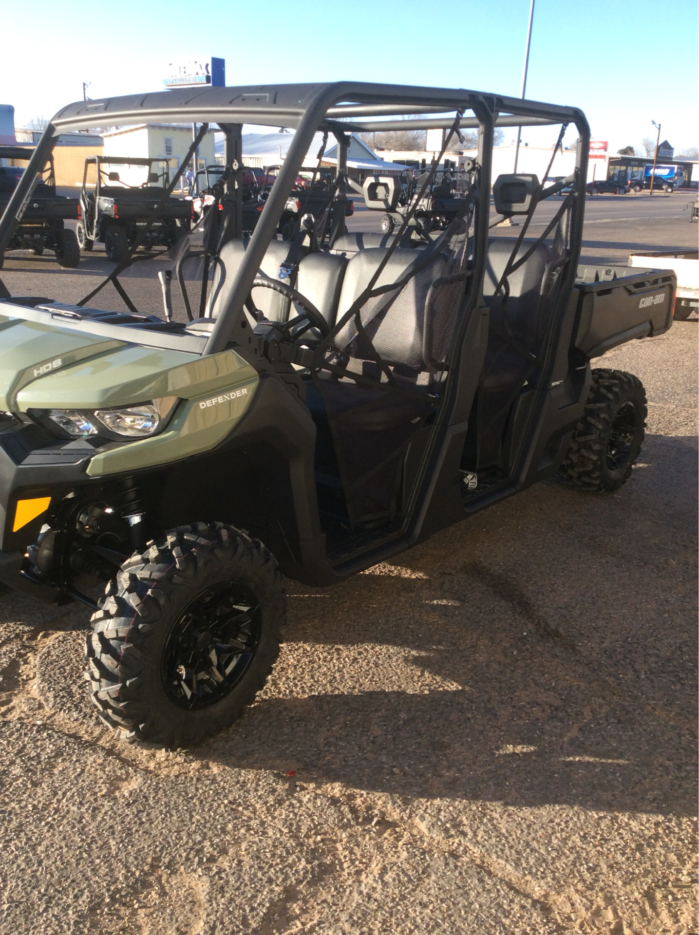 2021 Can-Am Defender MAX HD8 in Clovis, New Mexico - Photo 4
