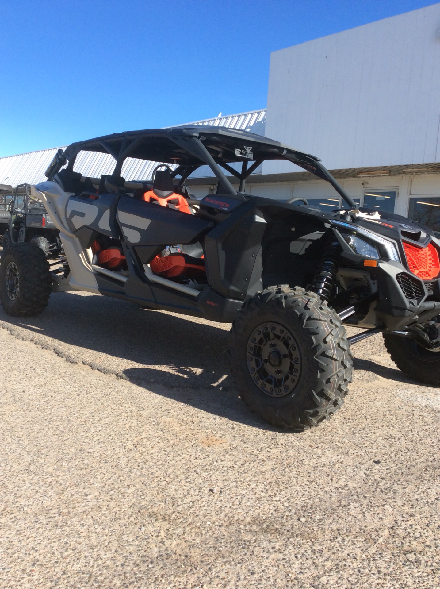 2021 Can-Am Maverick X3 MAX X RS Turbo RR in Clovis, New Mexico - Photo 2