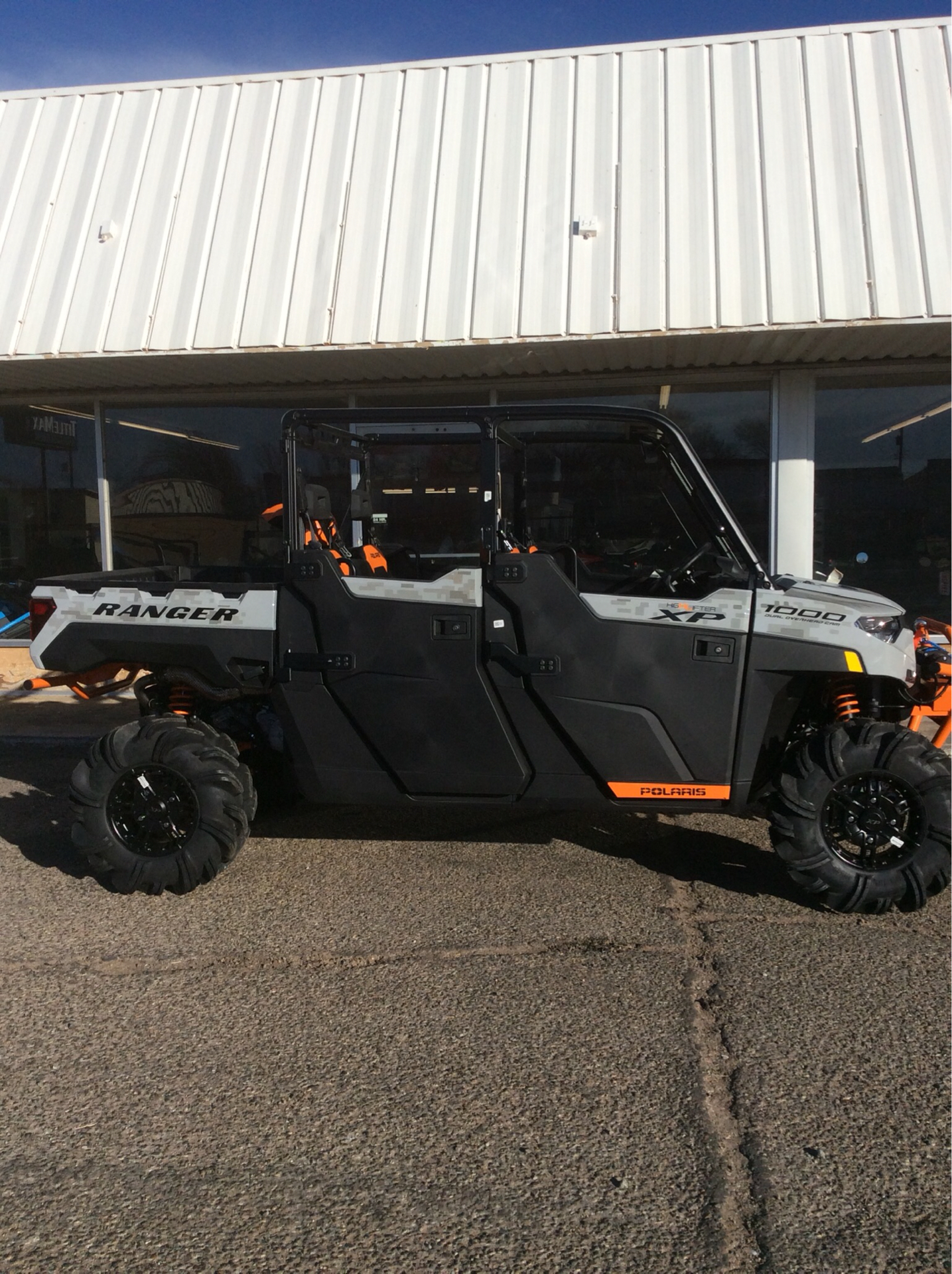 2021 Polaris Ranger Crew XP 1000 High Lifter Edition in Clovis, New Mexico - Photo 1