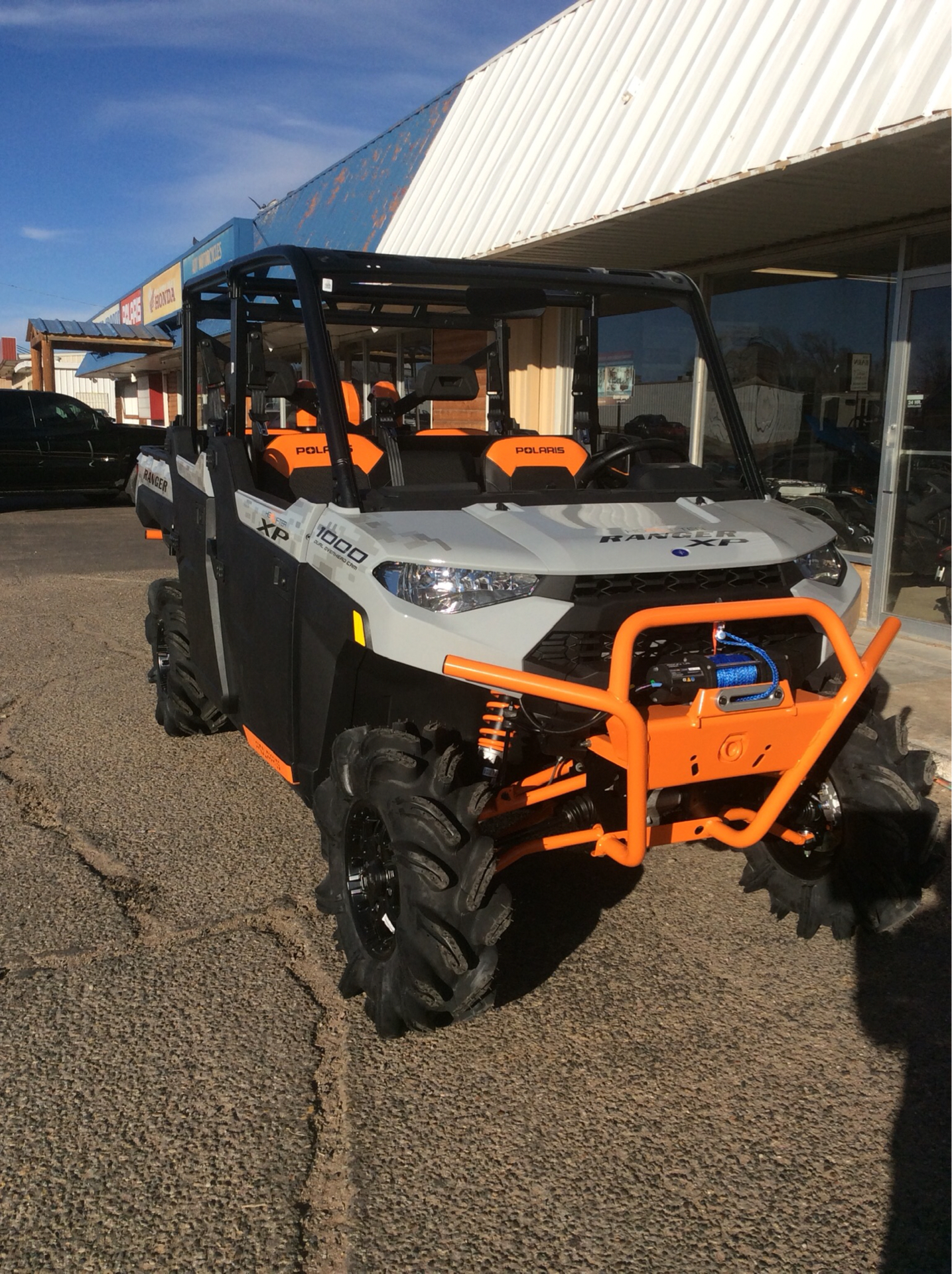 2021 Polaris Ranger Crew XP 1000 High Lifter Edition in Clovis, New Mexico - Photo 2