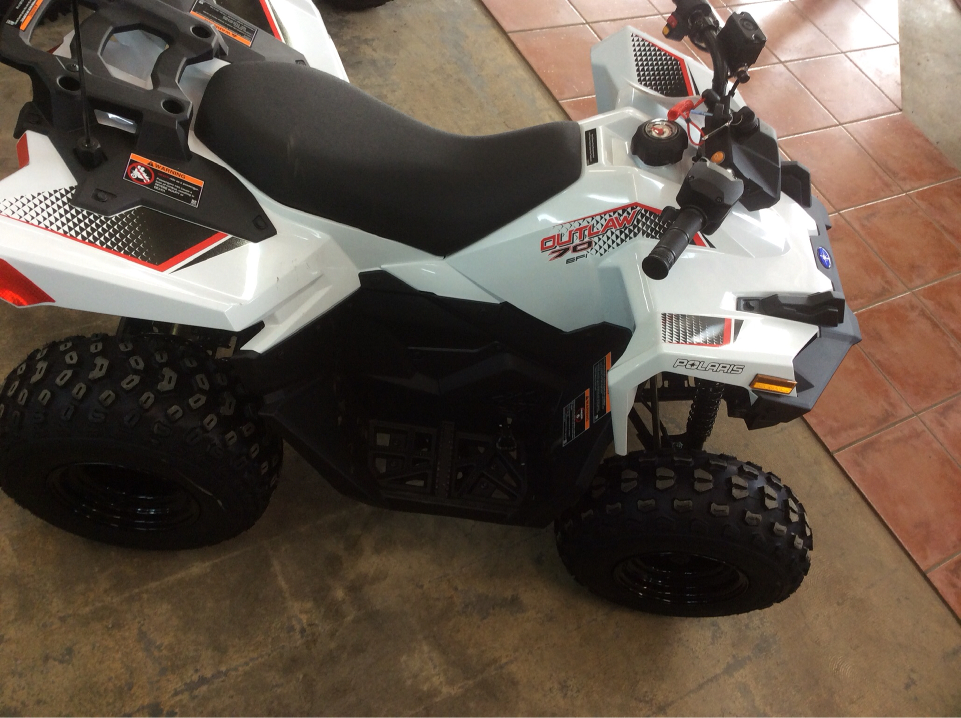 2021 Polaris Outlaw 70 EFI in Clovis, New Mexico - Photo 1