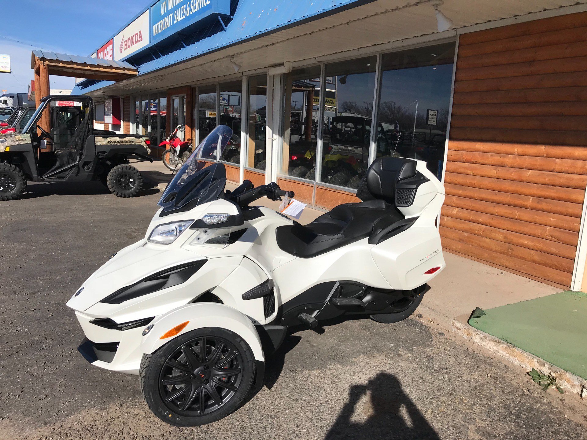 2018 Can-Am Spyder RT SE6 in Clovis, New Mexico - Photo 5
