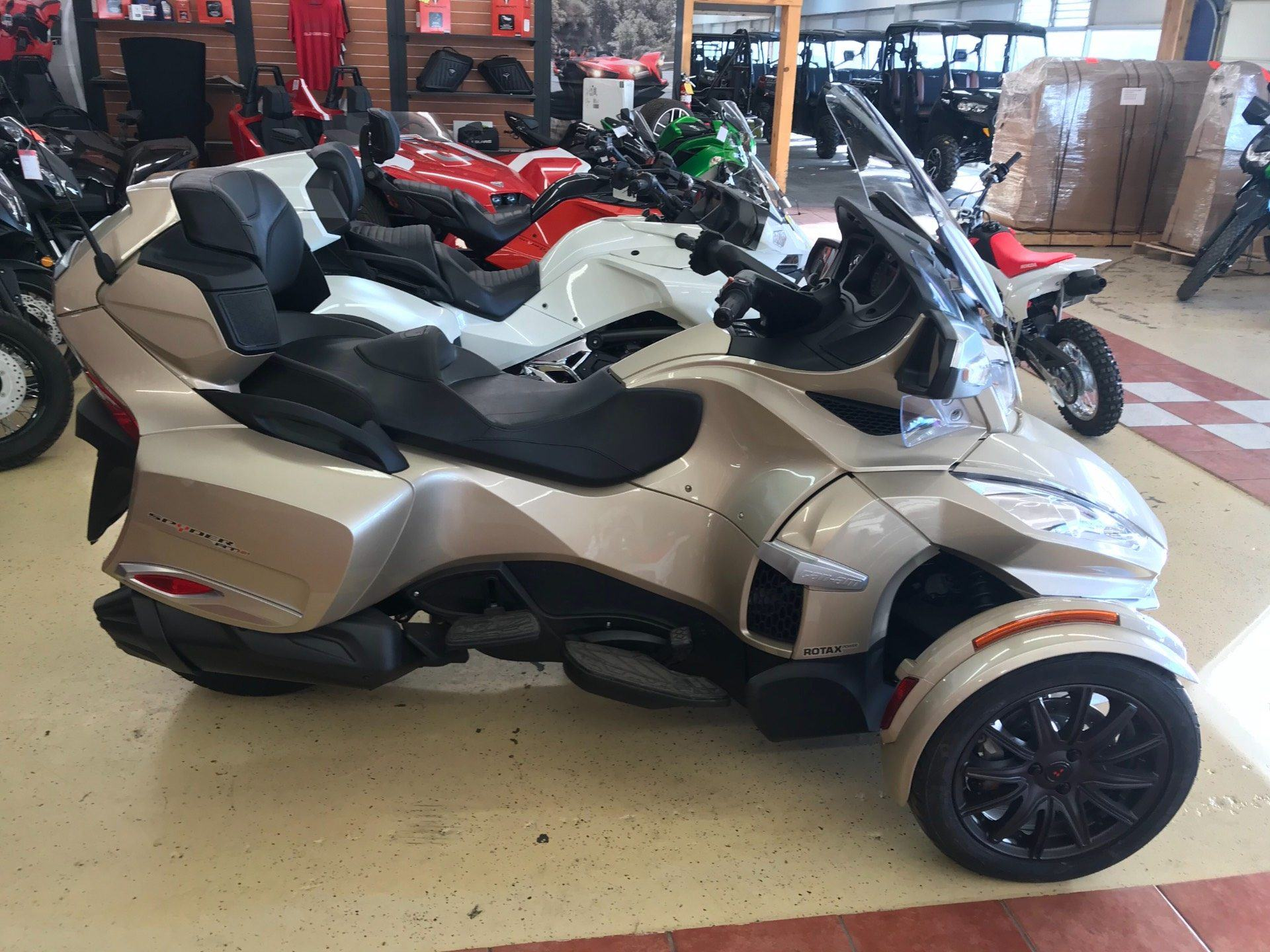 2017 Can Am Spyder RT S Motorcycles Clovis New Mexico C