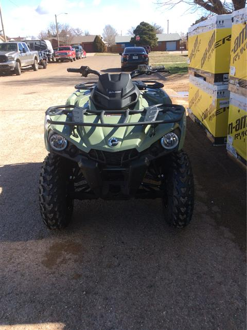2020 Can-Am Outlander DPS 450 in Clovis, New Mexico - Photo 2