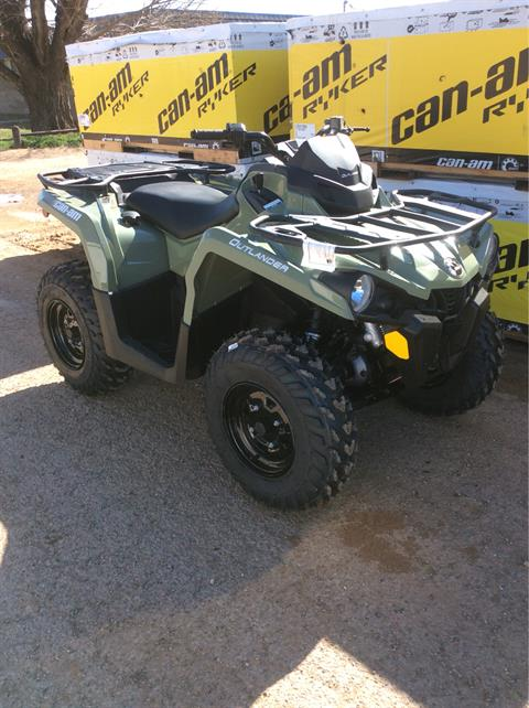 2020 Can-Am Outlander DPS 450 in Clovis, New Mexico - Photo 3