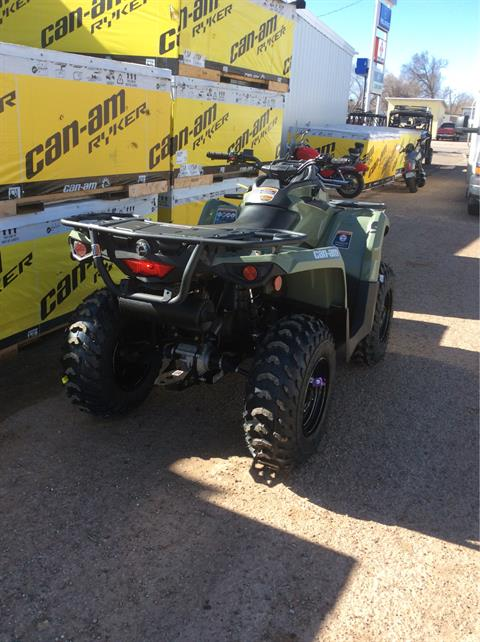 2020 Can-Am Outlander DPS 450 in Clovis, New Mexico - Photo 4