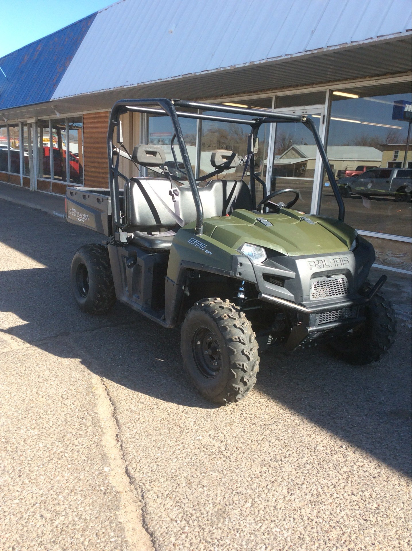2018 Polaris Ranger 570 Full-Size in Clovis, New Mexico - Photo 2