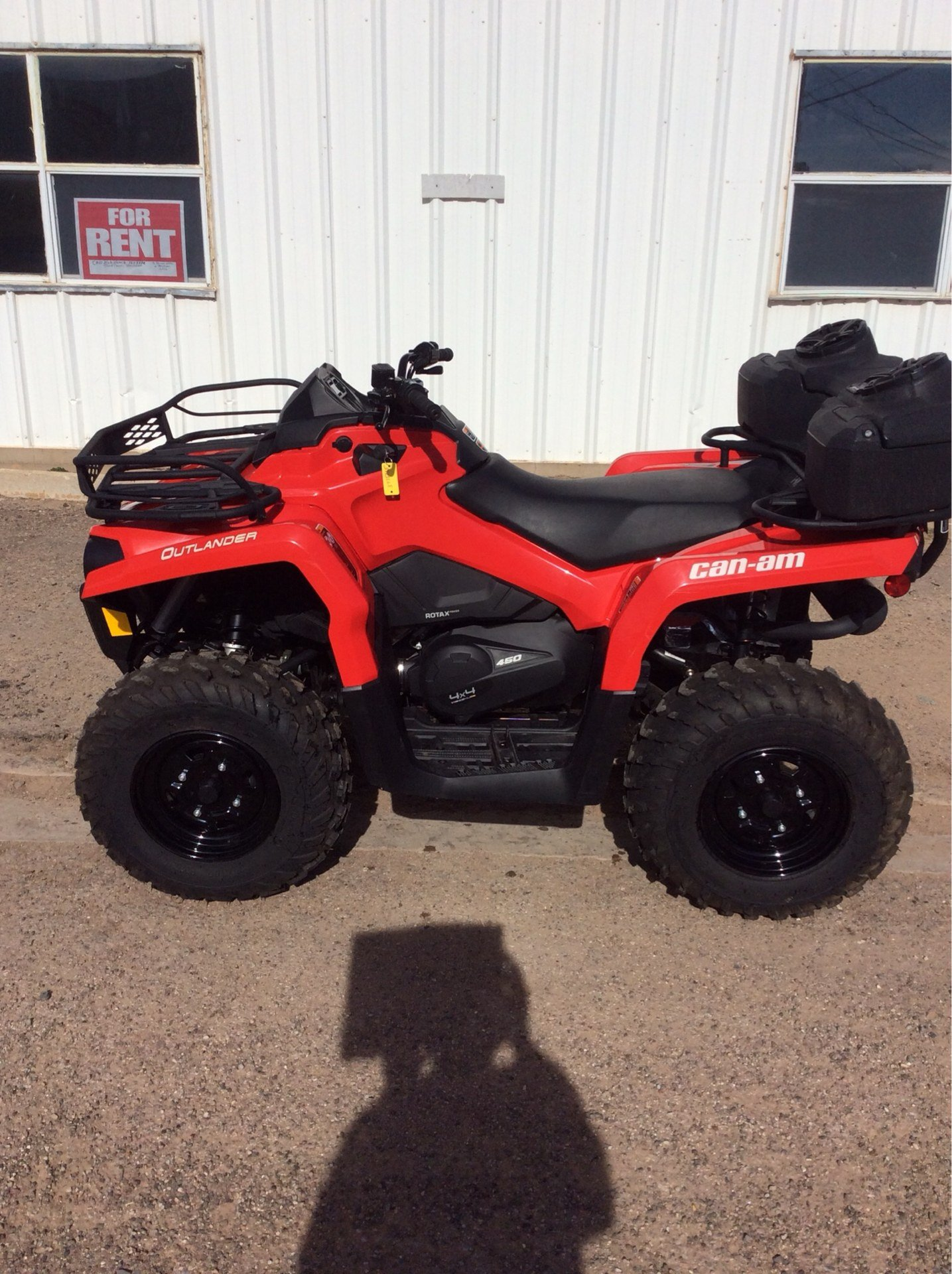 2018 Can-Am Outlander 450 in Clovis, New Mexico