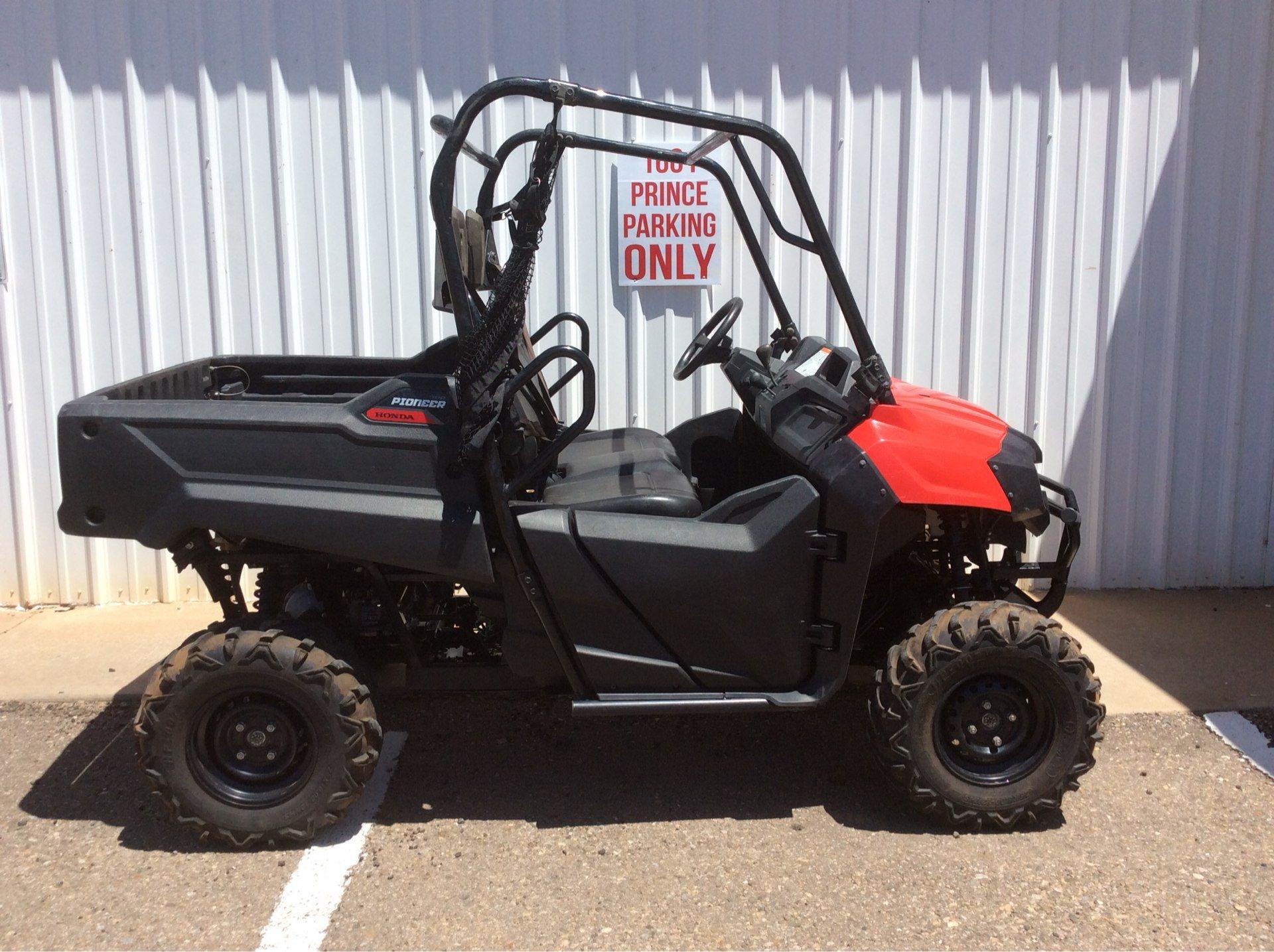 2017 Honda Pioneer 700 in Clovis, New Mexico