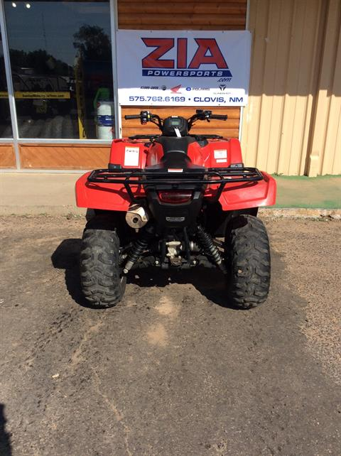 2016 Honda FourTrax Rancher 4X4 Automatic DCT IRS in Clovis, New Mexico