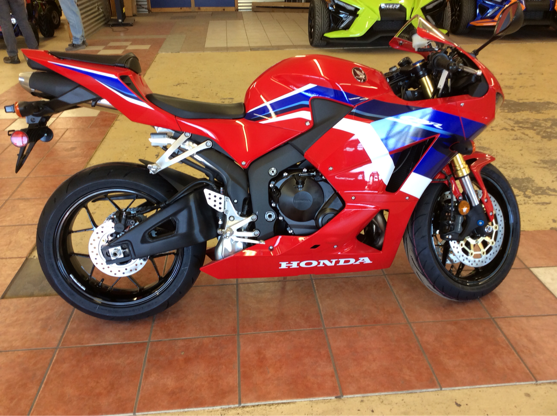 2021 Honda CBR600RR in Clovis, New Mexico - Photo 1