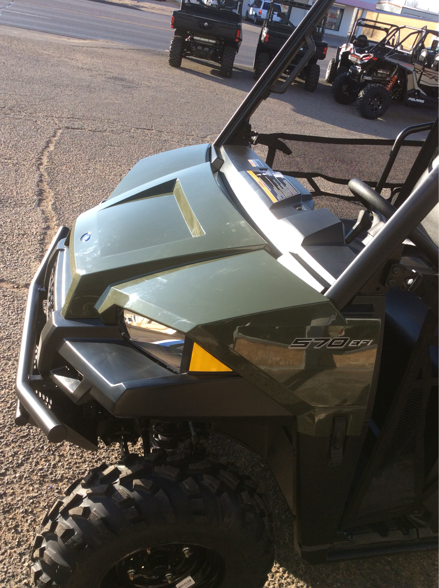 2021 Polaris Ranger Crew 570 in Clovis, New Mexico - Photo 7
