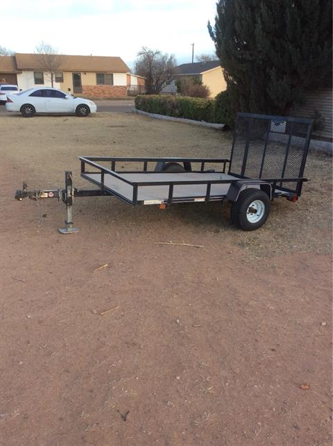 2016 Carry-On Trailers 5X8G in Clovis, New Mexico - Photo 1