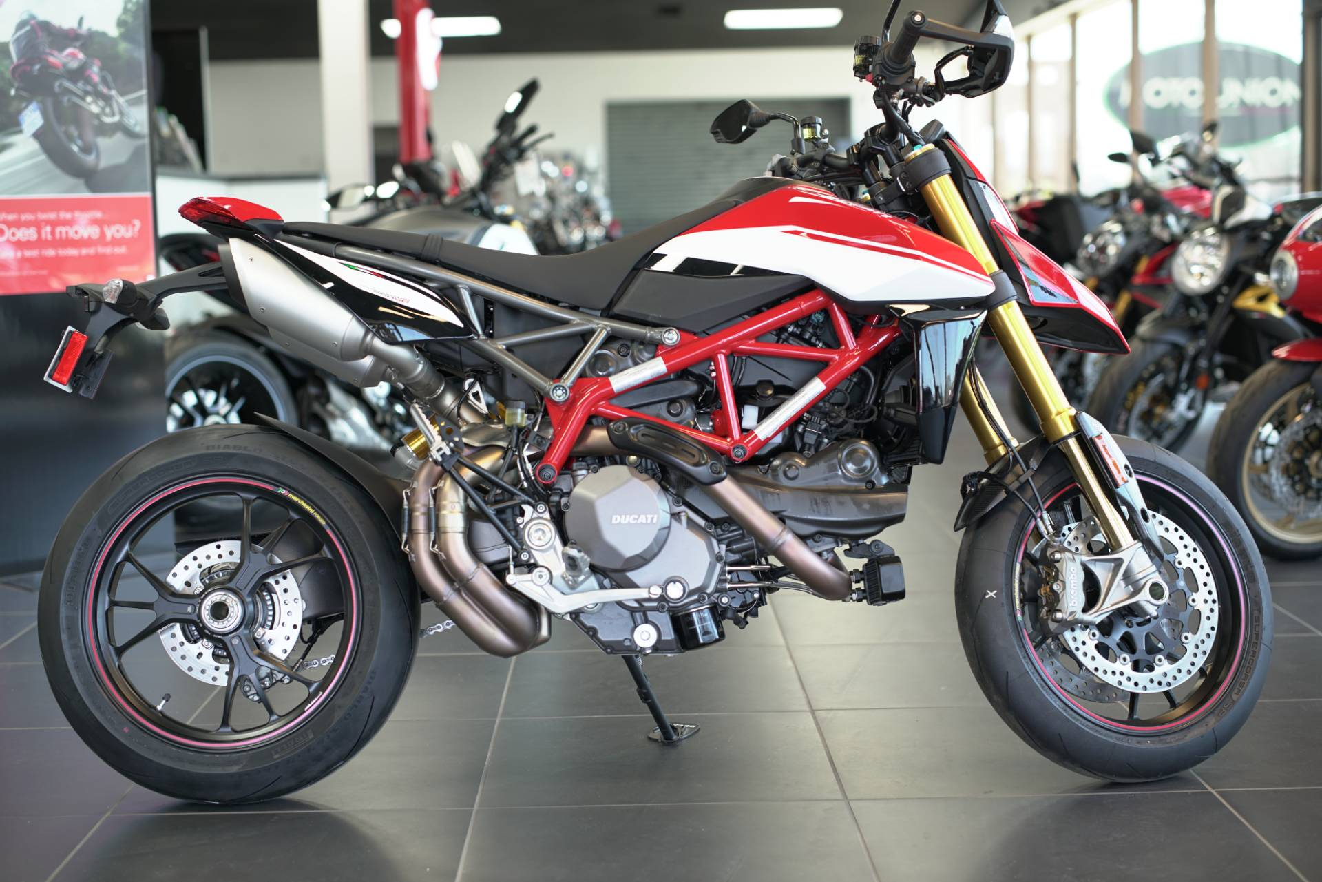 2021 Ducati Hypermotard 950 SP in West Allis, Wisconsin - Photo 1