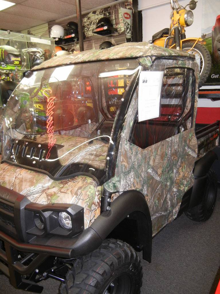 2020 Kawasaki Mule SX 4X4 XC Camo FI in Laurel, Maryland - Photo 2