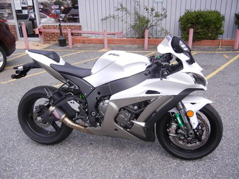 2017 Kawasaki Ninja ZX-10R in Laurel, Maryland