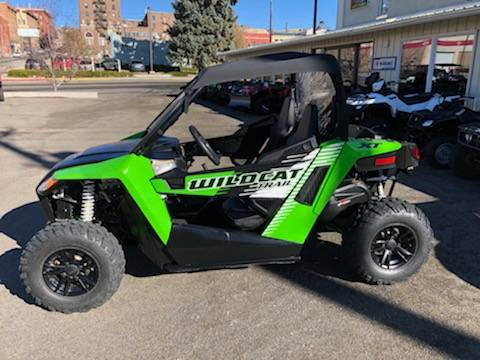 2016 Arctic Cat WILDCAT TRAIL POWER STERRING in Butte, Montana