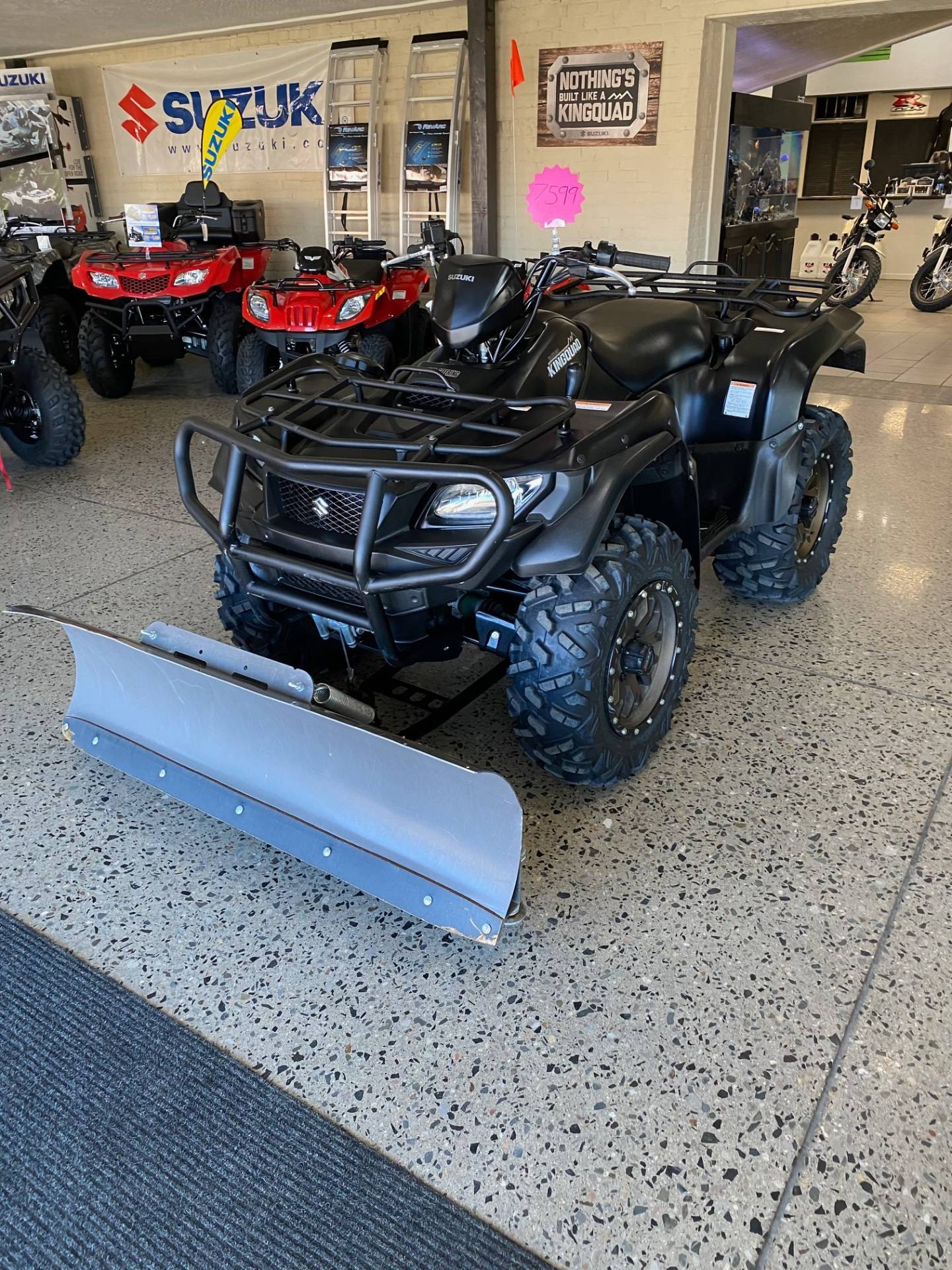 2017 Suzuki KingQuad 750AXi Power Steering Special Edition with Rugged Package in Butte, Montana - Photo 1