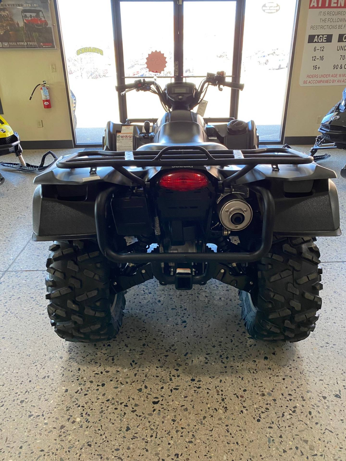 2017 Suzuki KingQuad 750AXi Power Steering Special Edition with Rugged Package in Butte, Montana - Photo 4
