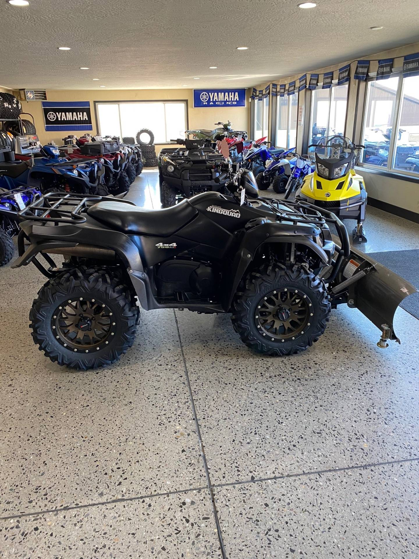 2017 Suzuki KingQuad 750AXi Power Steering Special Edition with Rugged Package in Butte, Montana - Photo 6