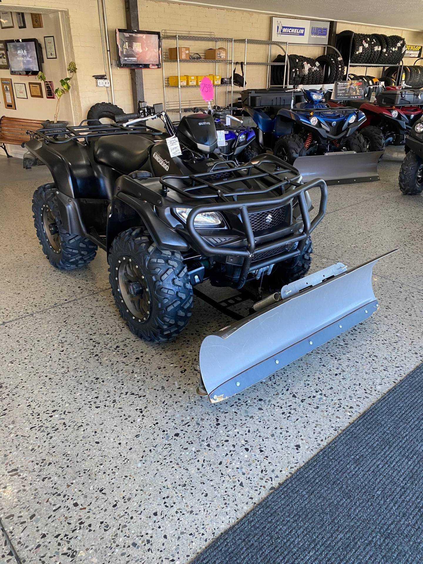 2017 Suzuki KingQuad 750AXi Power Steering Special Edition with Rugged Package in Butte, Montana - Photo 7
