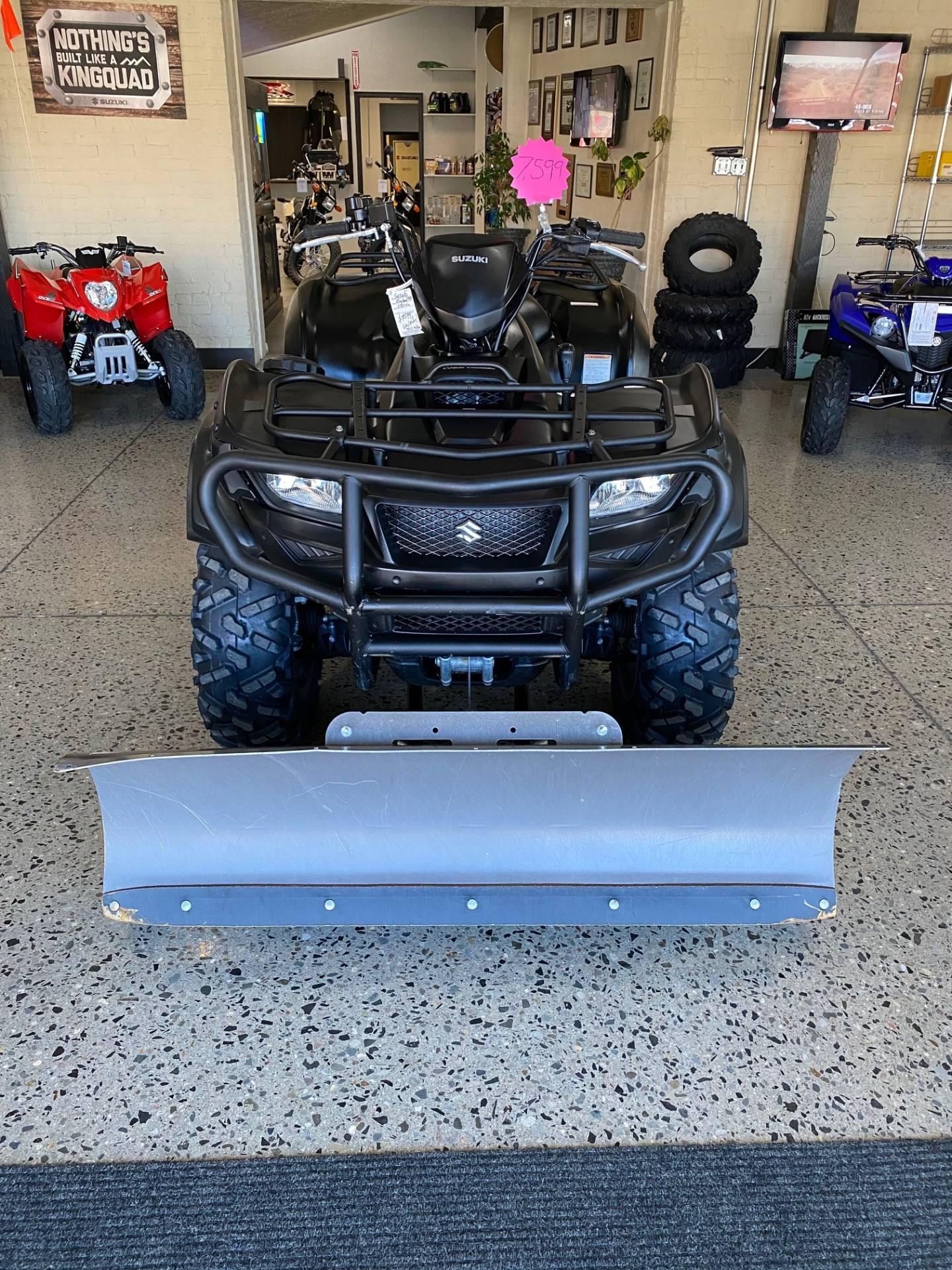 2017 Suzuki KingQuad 750AXi Power Steering Special Edition with Rugged Package in Butte, Montana - Photo 8