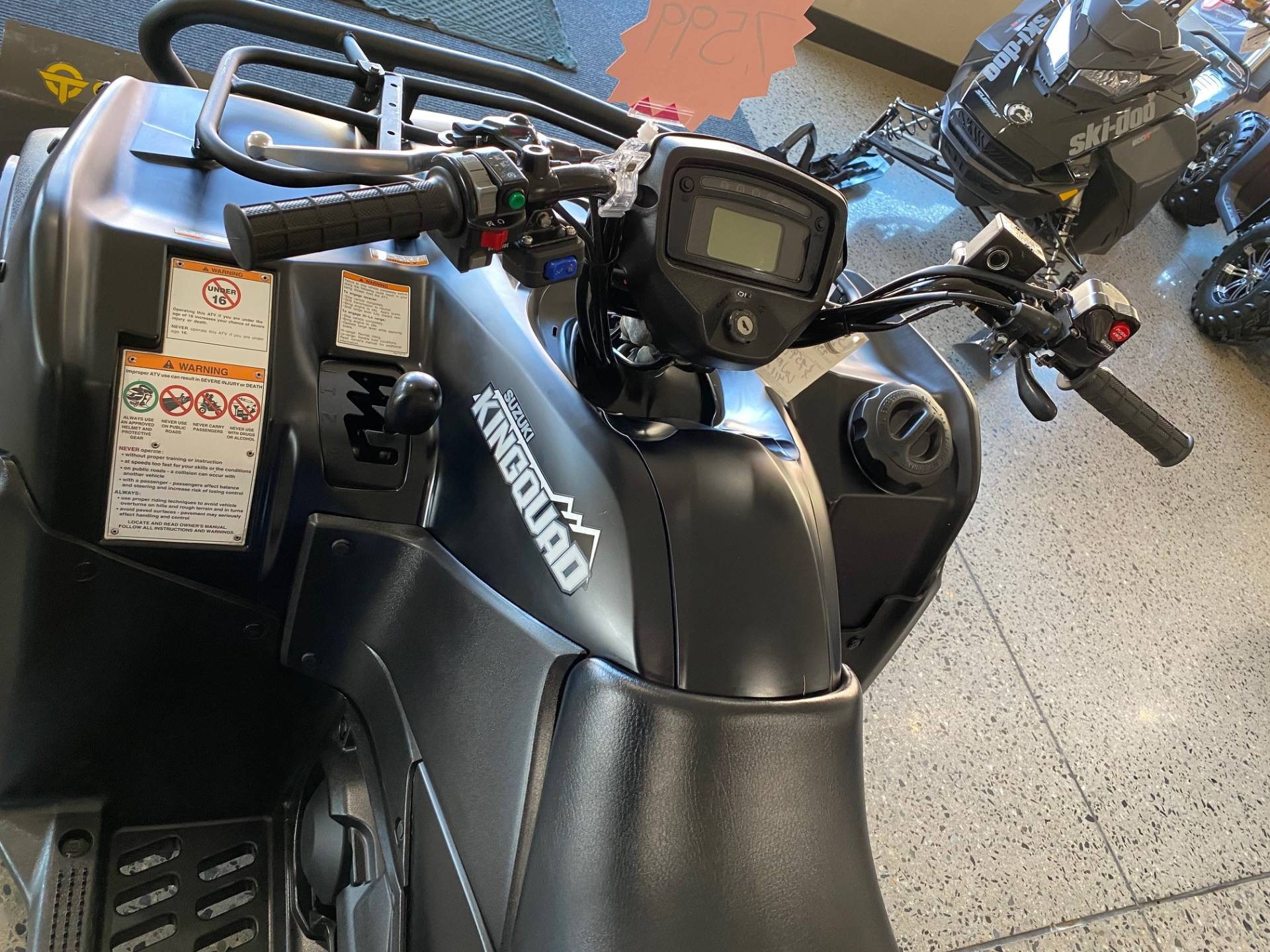 2017 Suzuki KingQuad 750AXi Power Steering Special Edition with Rugged Package in Butte, Montana - Photo 9
