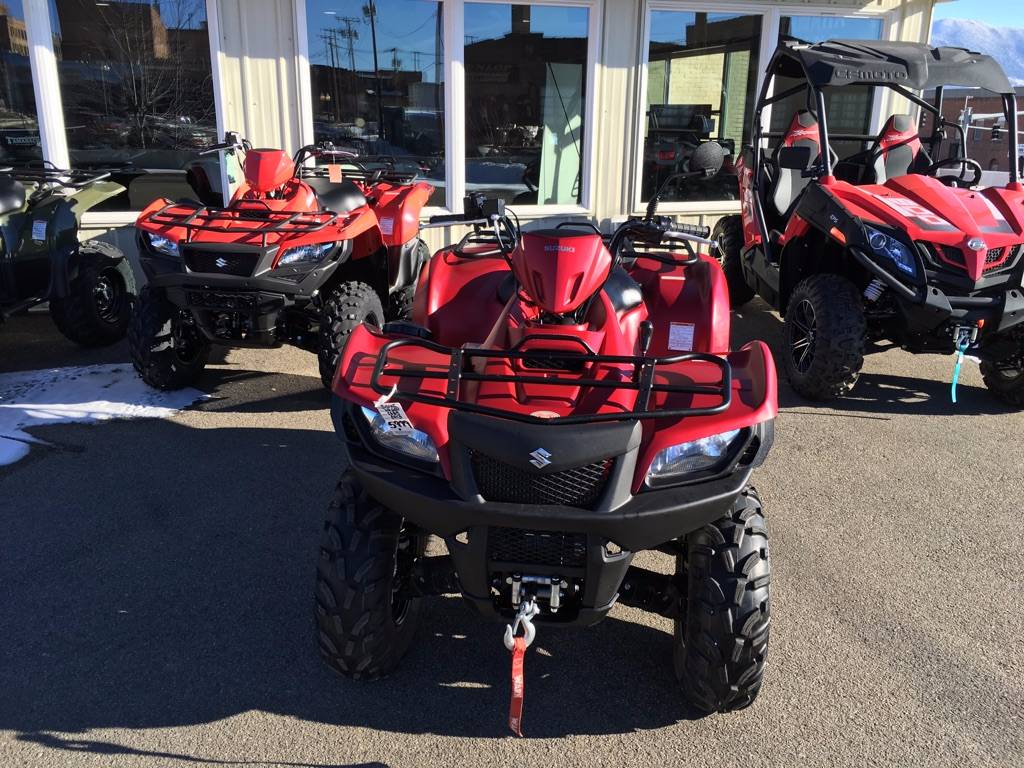 2013 Suzuki KingQuad® 500AXi Power Steering 30th Anniversary Edition in Butte, Montana