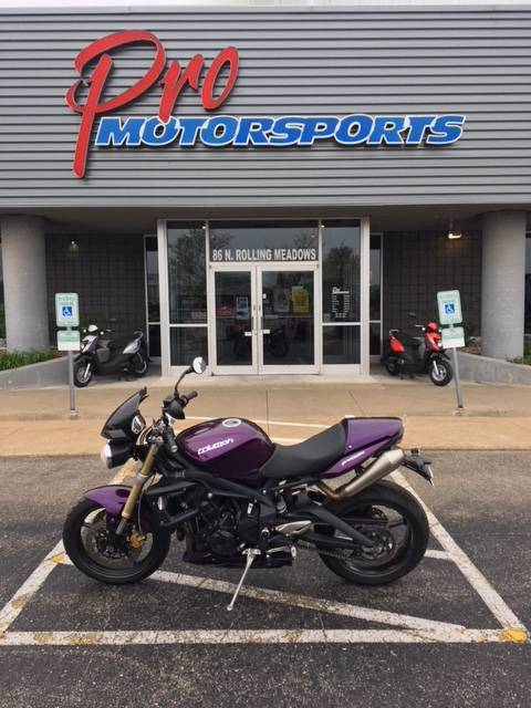 2012 Triumph Street Triple in Fond Du Lac, Wisconsin